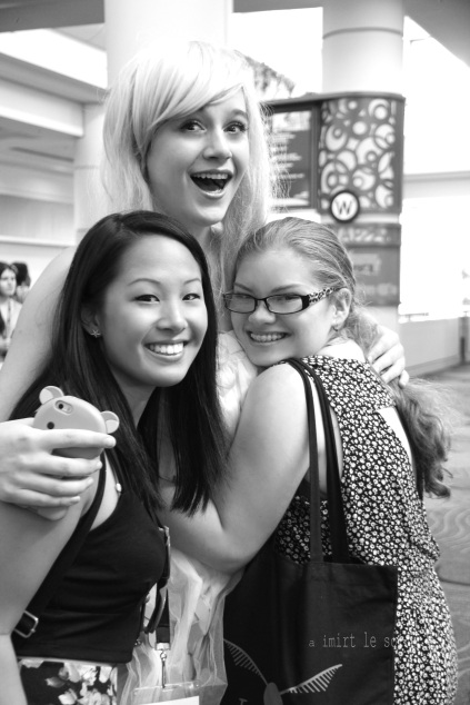 Friends at Leakycon, 2014