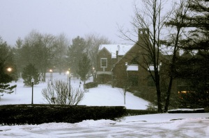 Mercyhurst Snow Storm