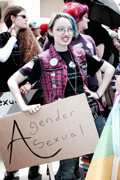 Agender Asexual